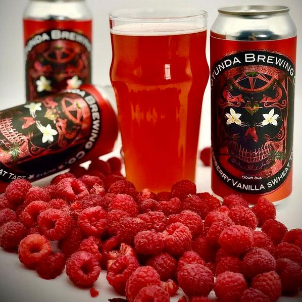 Rasberry Vanila sWeat Tart - Rotunda Brewing Co
